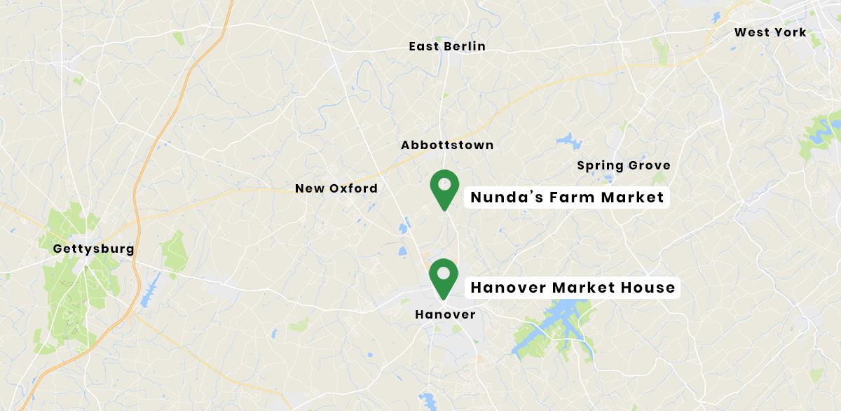 Nunda Fruit Farm Market Hanover PA Fresh Produce